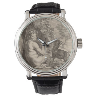 Pan playing floods wrist watches