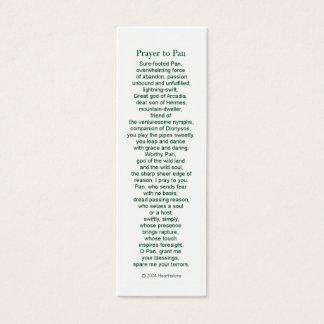 Pan Prayer Card
