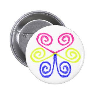 Pan Pride Pinback Button