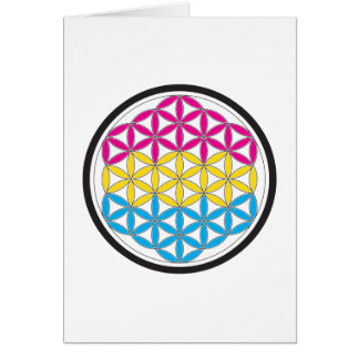 pan sacred geometry card
