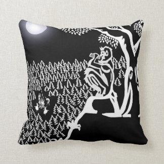 Pan Serenade Throw Pillow