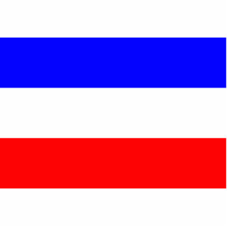 Pan Slavic Democratic Republic of the Congo Acrylic Cut Out