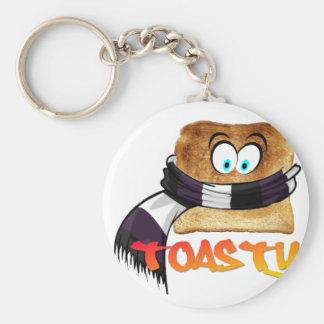 Pan Toasty Llavero Redondo Tipo Pin