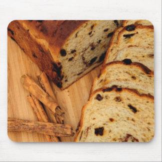 Pan y canela de pasa tapetes de raton