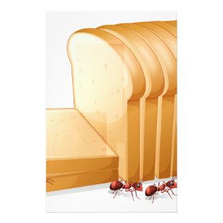Pan y hormigas papeleria personalizada
