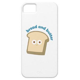 pan y mantequilla del pan iPhone 5 protectores