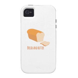 Pan y mantequilla iPhone 4/4S fundas