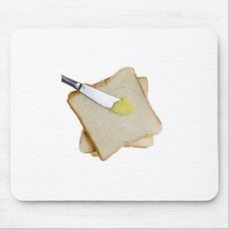Pan y mantequilla alfombrillas de ratón