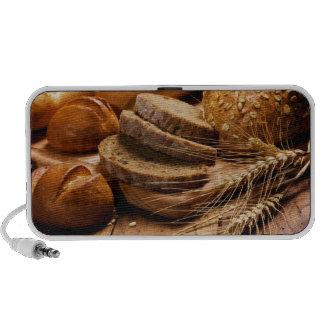 Pan y trigo altavoz de viaje