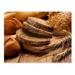 Pan y trigo postales