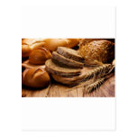 Pan y trigo tarjetas postales