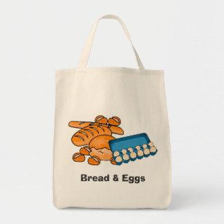 Pan y ultramarinos de los huevos/bolso (frágiles)
