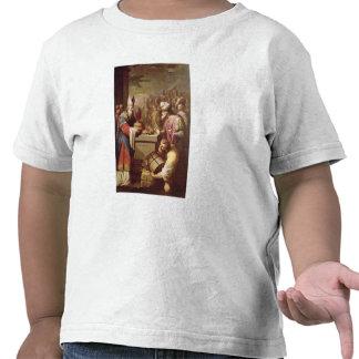 Pan y vino de ofrecimiento de Melchizedek Camisetas
