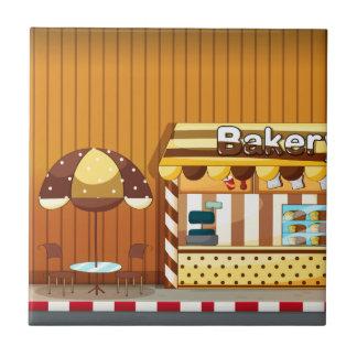 Panadería Azulejo Cuadrado Pequeño
