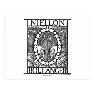 Panadería de Boulanger del francés Postales