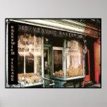 Panadería de Vesuvio, NYC, poster