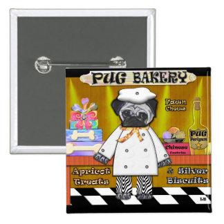 Panadería del barro amasado pin cuadrado
