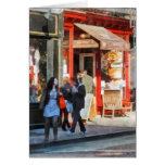 Panadería del Greenwich Village Tarjeta