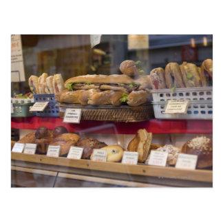 Panadería en París Tarjetas Postales