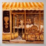 Panadería Guerini Hornear (Italia) Original Atwork Póster