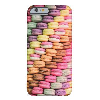 Panadería Macarons de París del francés Funda De iPhone 6 Barely There