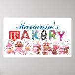Panadería - muestra del poster de la cocina - SRF