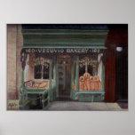 Panadería NYC de Vesuvio Poster
