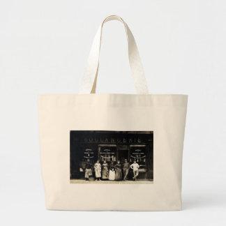 Panadería parisiense 1900 bolsa tela grande