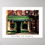 Panadería pintoresca de Soho - New York City Impresiones