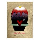 Panadería que hiela tarjetas de visita del corazón
