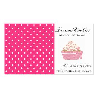 Panadería rosada de la magdalena del lunar