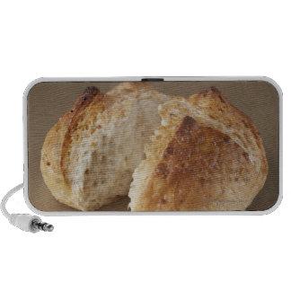 ¿Panadería sin pulir del arroz? con vapor Laptop Altavoces