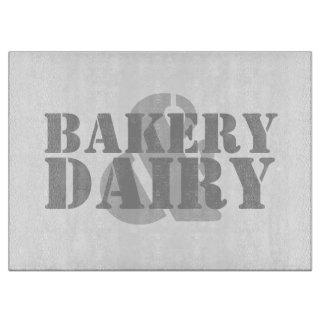 Panadería y lechería tabla de cortar