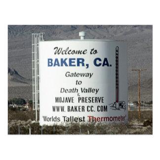 Panadero, CA Tarjeta Postal