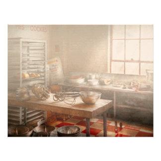 Panadero - cocina - la panadería comercial plantilla de membrete