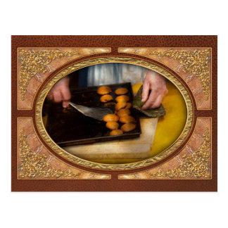 Panadero - comida - tenga algunas galletas estimad postal