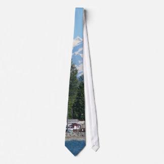 Panadero de la bahía del abedul corbata