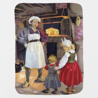 Panadero de la Pat-UNO-Torta y poesía infantil de Manta De Bebé