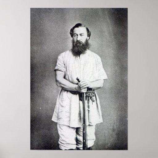 Panadero de Samuel, 1865 Póster
