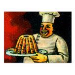 Panadero holandés del bak-ker del alfabeto del postal