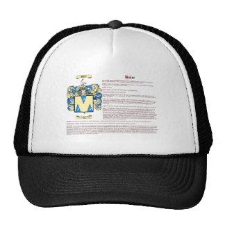 Panadero (inglés) gorras