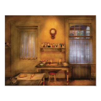 """Panadero - la cocina de la abuelita invitación 4.25"""" x 5.5"""""""