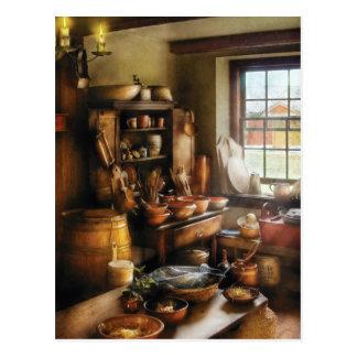 Panadero - nada tiene gusto de cocina casera tarjeta postal