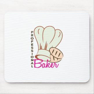 Panadero profesional alfombrilla de ratón