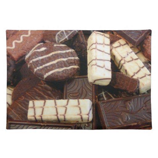 Panadero - quién quiere las galletas mantel individual