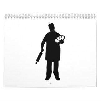 Panadero Calendario De Pared