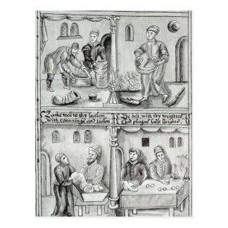 Panaderos de York, A.D, 1595-96 Postal