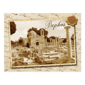 Panagia Chrysopolitissa church, Paphos, Cyprus Postcard