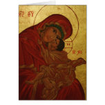 Panagia Glykophilousa Stationery Note Card