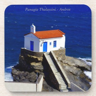 Panagia Thalassini - Andros Drink Coasters